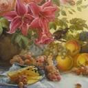 Натюрморт с лилиями1