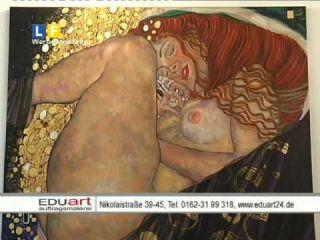 Eduart Auftragsmalerei im Leipzig Fernsehen